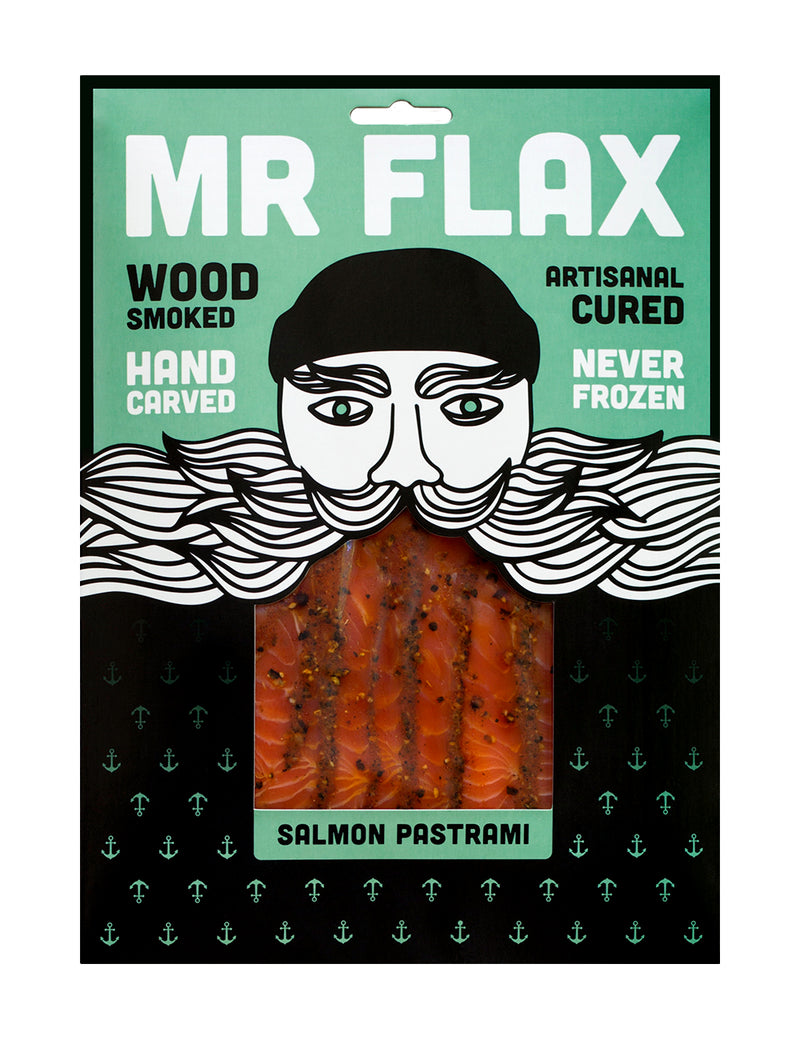 Mr Flax Salmon Pastrami