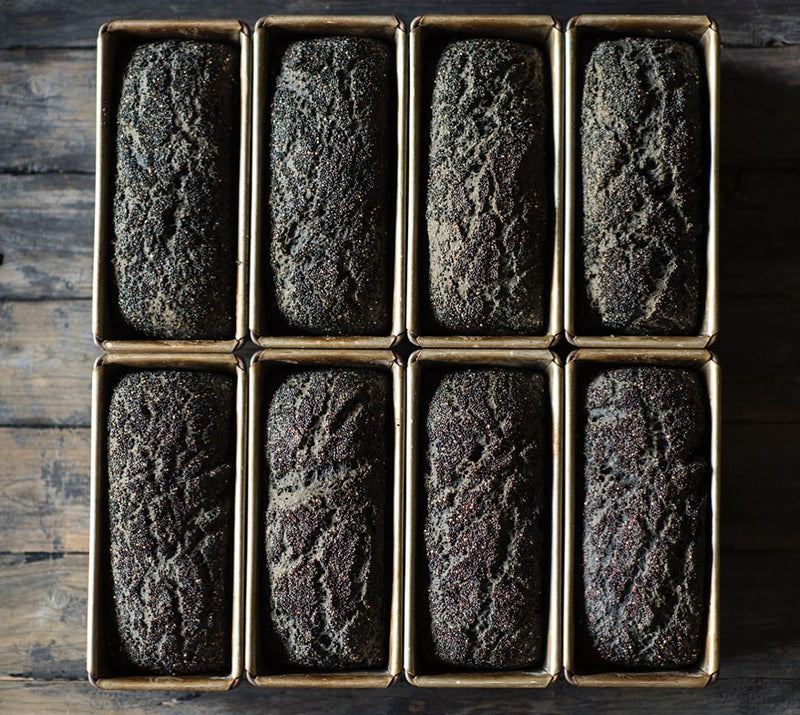 Activated Charcoal & Quinoa Bread (Frozen, 1.25kg)