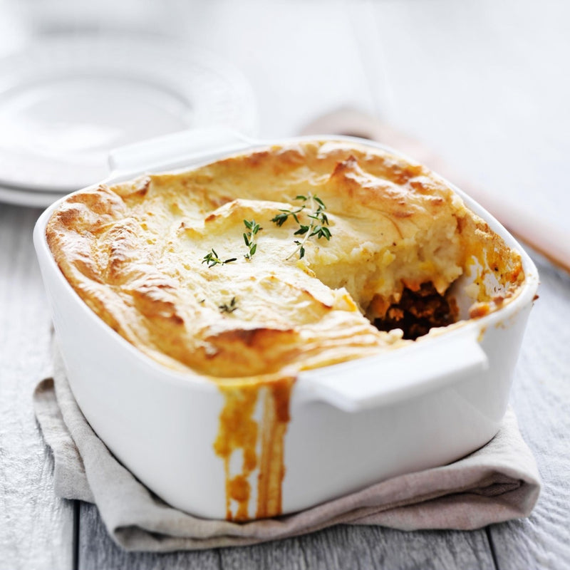 Greek Goat & Fennel Shepard's Pie