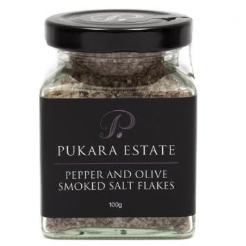 Pukara Estate Pepper and Olive Smoked Flakes (100g)