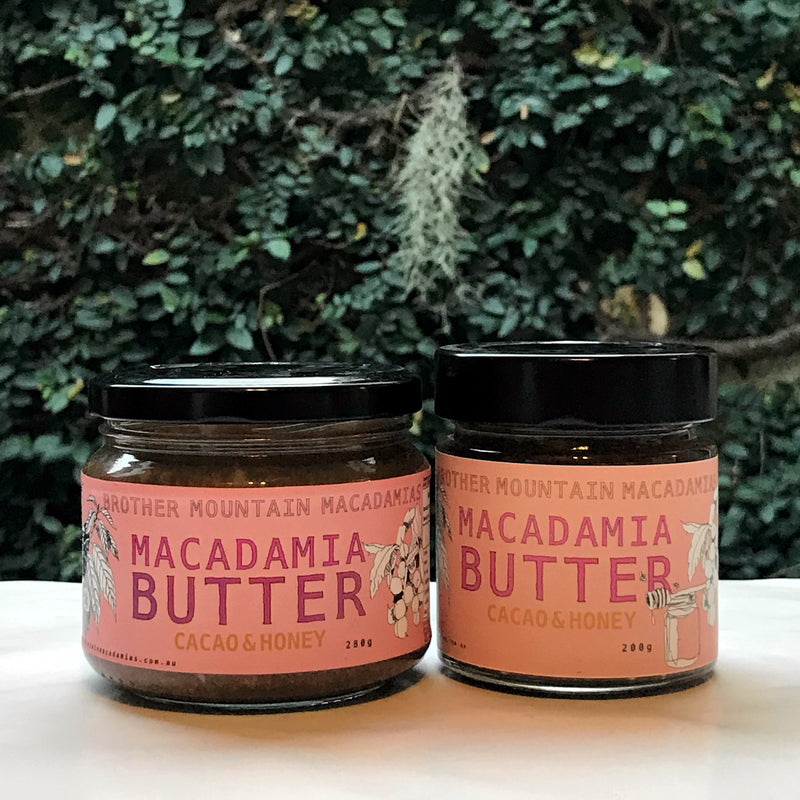 Cacao and Honey Macadamia Butter