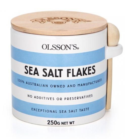 Olsson's Sea Salt Flakes Jar (250g)