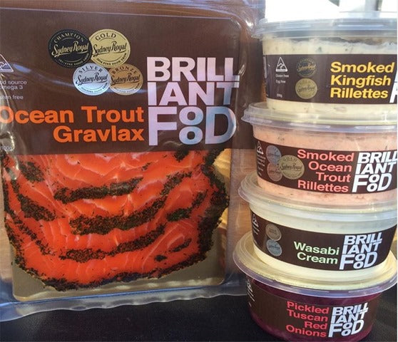 Brilliant Smoked Ocean Trout Rillettes (200g)