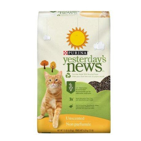 NESTLE YESTERDAYS NEWS LE CHAT QUI LIT 15LBS