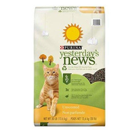 NESTLE YESTERDAYS NEWS LE CHAT QUI LIT 30LBS
