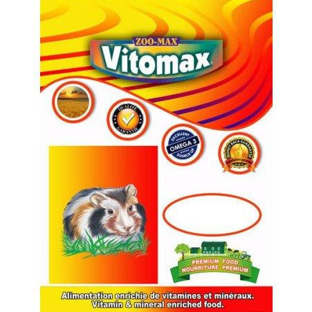 ZOOMAX VITOMAX RONGEUR COCHON D'INDE 4LBS