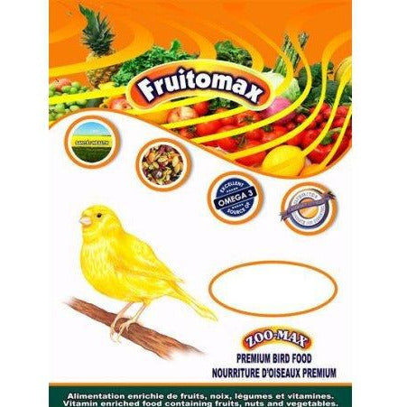 ZOOMAX FRUITOMAX OISEAUX SERIN 2LBS