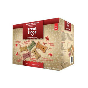 TREAT TIME CHIEN MOYENS ASSORTIS 7LBS