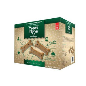 TREAT TIME CHIEN LARGE NATURE 7LBS
