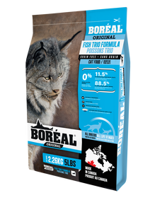 BOREAL CHAT SANS GRAINS TRIO DE POISSON 2.26KG