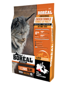 BOREAL CHAT SANS GRAINS POULET 5.45KG