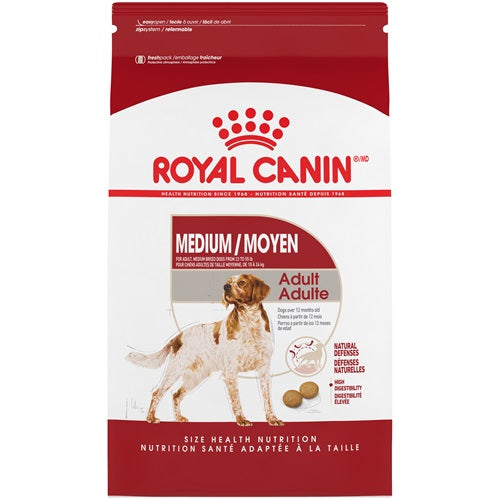ROYAL CANIN MEDIUM Adult / MOYEN Adulte