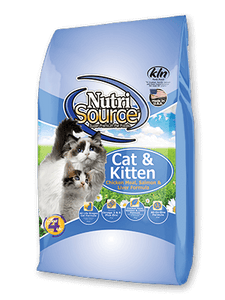 NUTRISOURCE CHAT & CHATON POULET/SAUMON/FOIE 6,6LBS
