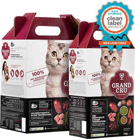 CANISOURCE GRAND CRU CHAT VIANDE ROUGE 1KG