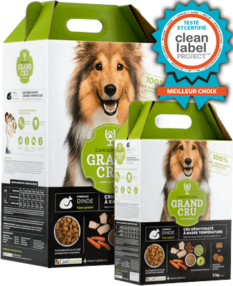 CANISOURCE GRAND CRU CHIEN DINDE SANS GRAINS 2KG
