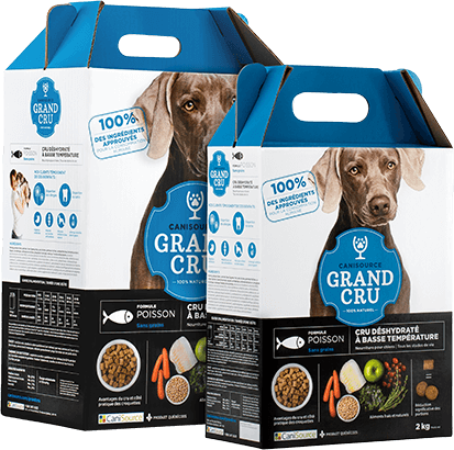 CANISOURCE GRAND CRU CHIEN POISSON SANS GRAINS 2KG