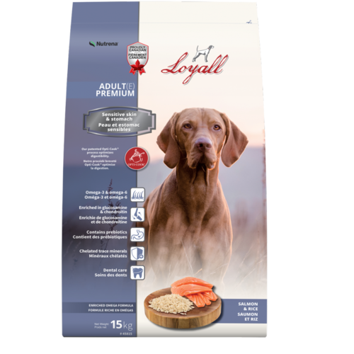 Loyall chien estomac sensible 15 kg