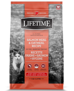 TROUW NUTRITION LIFETIME CHAT SAUMON/AVOINE 6.5KG