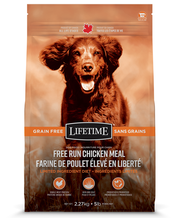 TROUW NUTRITION LIFETIME CHIEN SANS GRAINS POULET 11.36KG