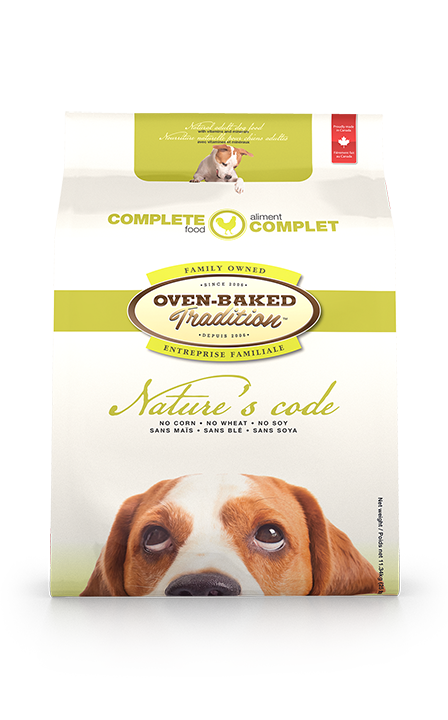 NATURES CODE CHIEN ADULTE POULET 4.4LBS