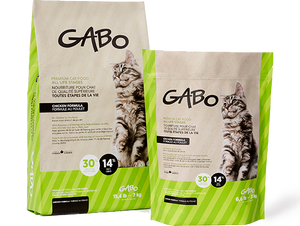 GABO CHAT/CHATON NOURRITURE 15.4 LBS