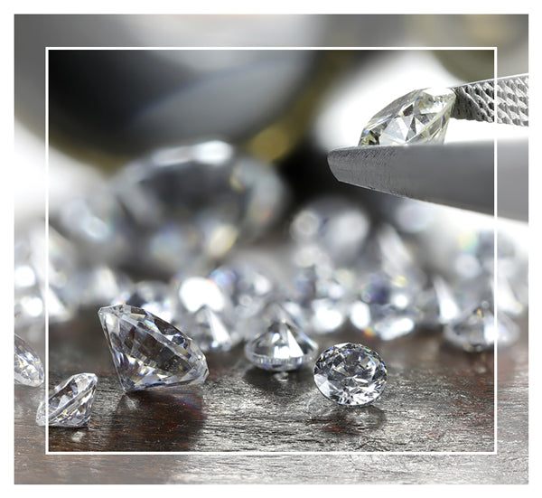 Choose the perfect diamond for your custom engagement rings from Battisti Jewelers