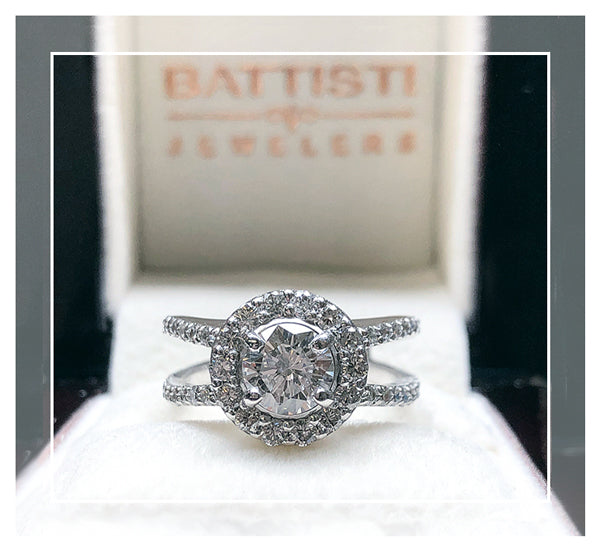Custom engagement rings and jewelry by Battisti Jewelers