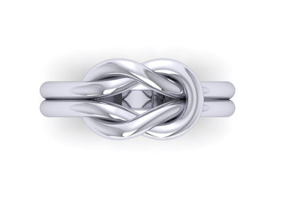 Beautiful Love Knot Ring - Love Ring by Battisti Jewelers