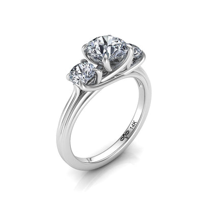 Mattea Engagement Ring - Diamond Ring and Bridal Jewelry