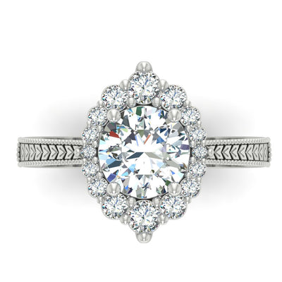Kristin Engagement Ring - Custom Diamond Engagement Rings by Battisti Jewelers