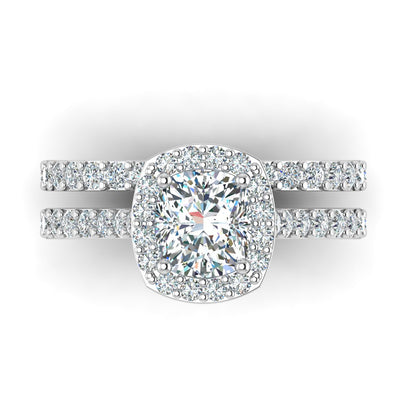 Beautiful custom engagement rings by Battisti Jewelers