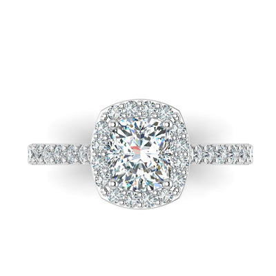 Ashley Engagement Ring - Diamond Engagement Ring by Battisti Jewelers