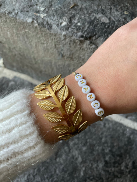 Bracelets MESSAGE perles