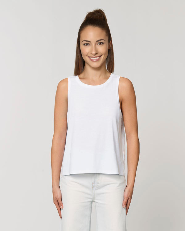Dancer - Kurzes Damen Tanktop