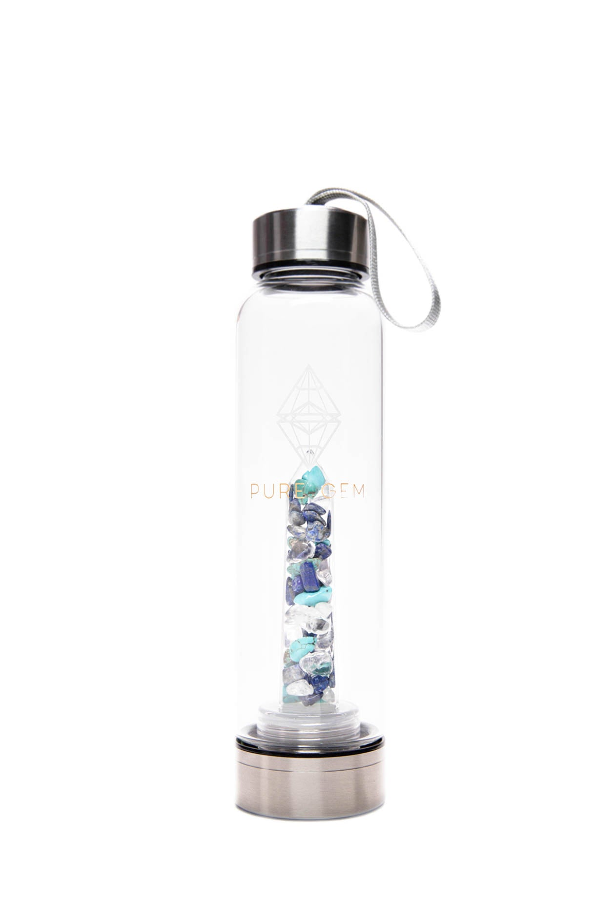 Joy Gemstone Water Bottle - Pure Gem Energy