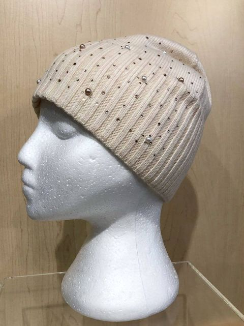 Winter Toque w/ Pearl Detail by Picabo