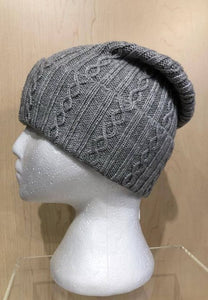 Sweater-Knit Slouch Toque by Picabo