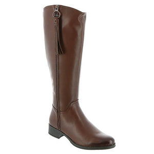 Sonia Tall Boot (Tan) - Bussola
