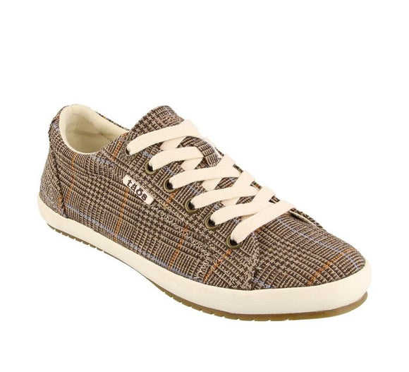 Star Sneaker Brown Plaid - Taos