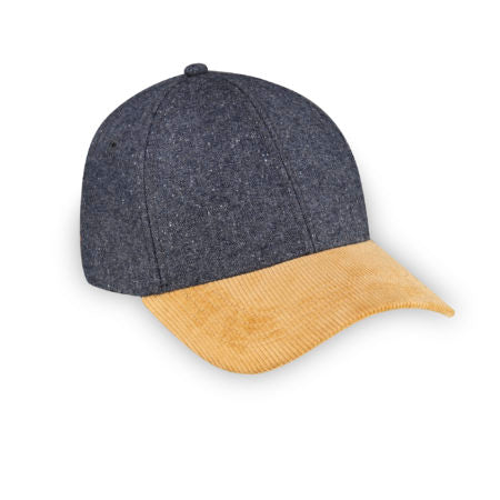 XS Hat UNISEX Grey Speckle Wool