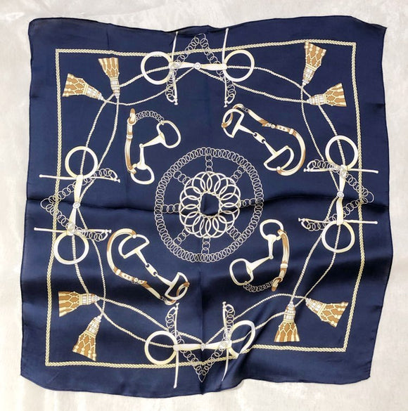 Scarf - Square Versace Navy