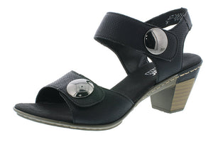 Heel Double Adjust (Black) by Rieker