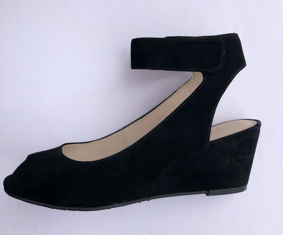 Venice Wedge (Black) by Sacha London