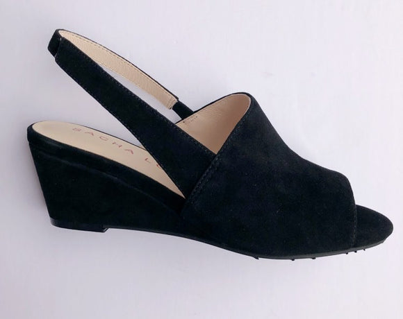 Vada Wedge (Black) with Sacha London