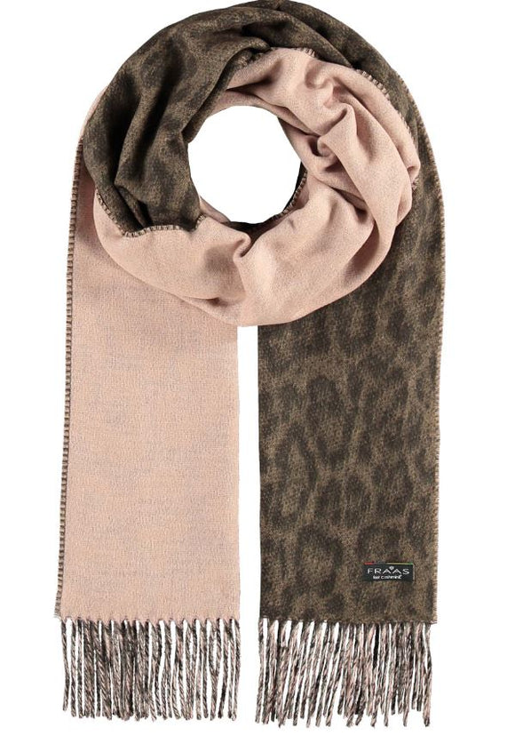 Scarf Two Tone Leo Camel - VFraas