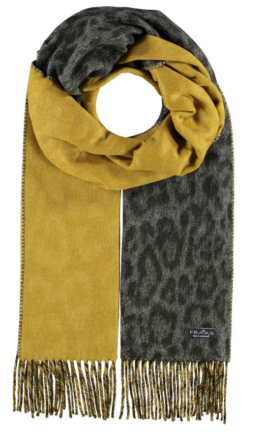 Scarf Two Tone Leo Mid Grey - VFraas