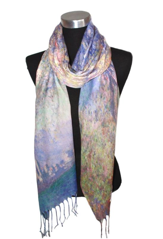 Scarf Digital Print Skyline