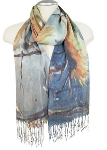 Scarf - Chrysanthemum Soft Yellow