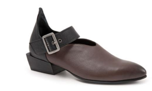 Sherry Slip-on Flat Buckle - Teak by Bueno