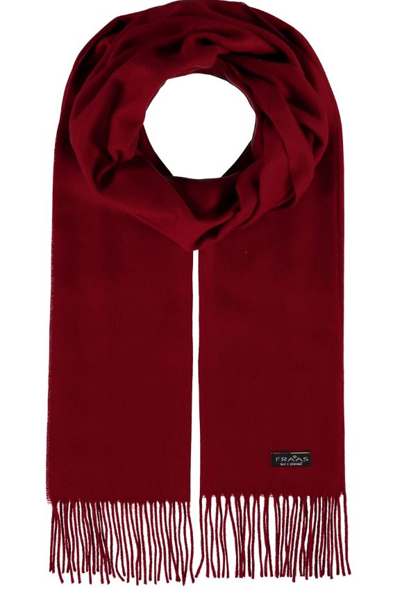 Scarf Solid Cashmink Classic Red - VFraas
